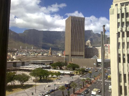 Hotel on St Georges: Table Mountain View from my room