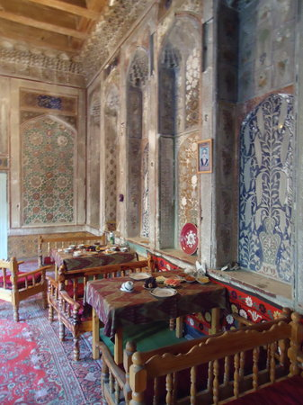 K. Komil Bukhara Boutique Hotel: dining room