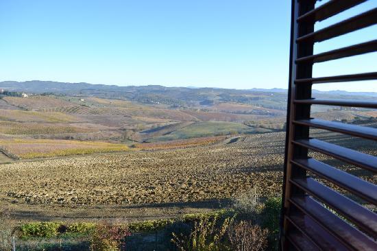Villa Veronica: Vista sul chianti