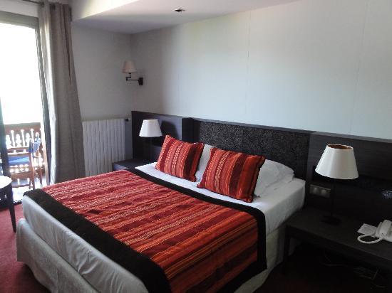 Auberge Du Pere Bise : la chambre