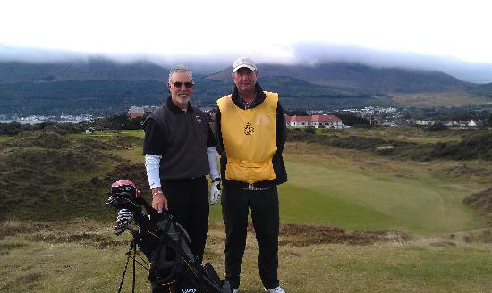 Royal County Down Golf Club: Royal County dDwn with Caddie Collin Wallace