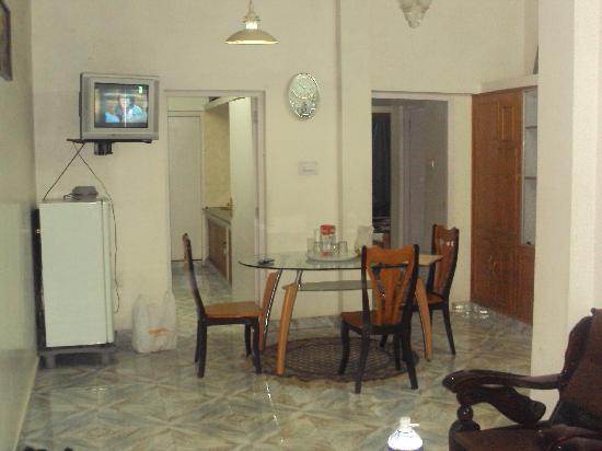 Maruthi Cottages: The Hall