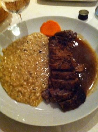 La Fiducia Cafe: risotto&lamb leg