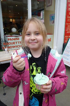 Red Boat Ice Cream Parlour: kids enjoy After Eight flavour