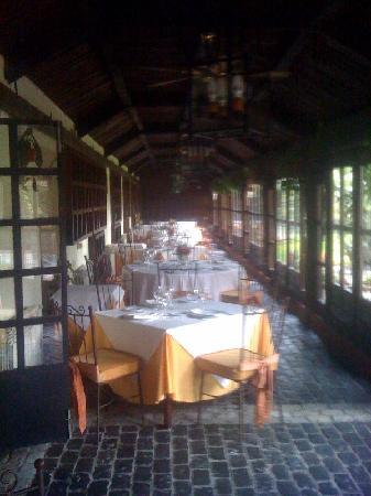 Restaurante La Hipica: La terrazza coperta
