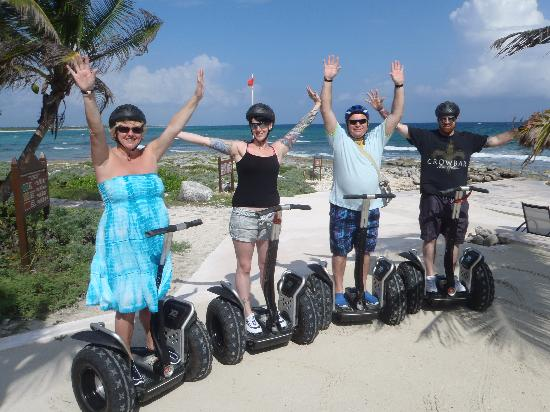 Grand Palladium Kantenah Resort and Spa : segway