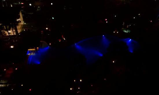 The San Luis Resort: View of Pool at night