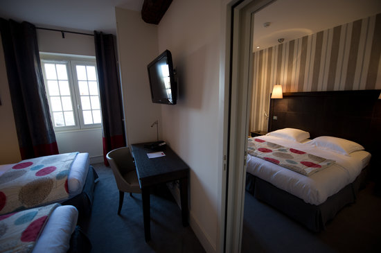 Hotel Le Griffon d'Or : 2 chambres communicantes