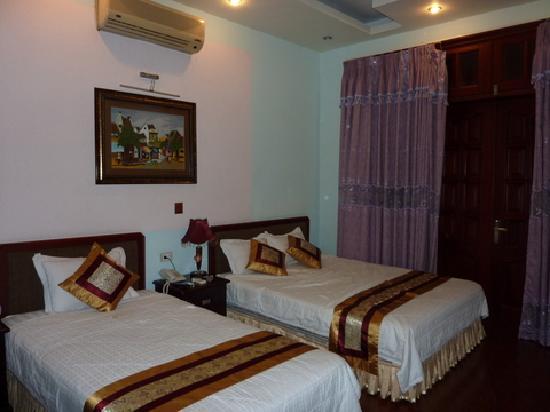 Hanoi Morning Hotel : Notre chambre