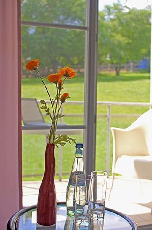 Hotel Kreischaer Hof: Blick vom Balkon