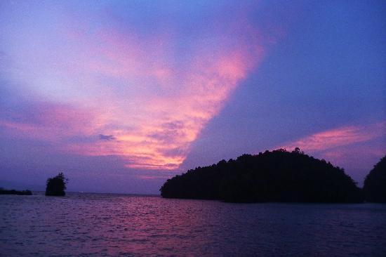 Club Tara Resort: The most beautiful sunset