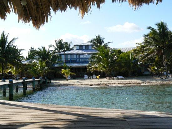 Maya Beach Hotel: A small beachfront hotel.