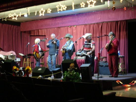 Spruce Pine, NC: One of the performing groups