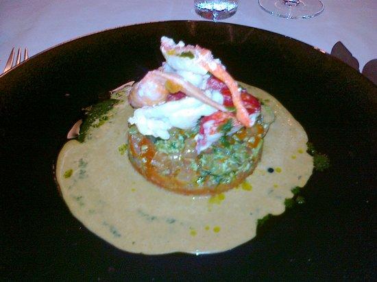 L'etang du Moulin : homard breton