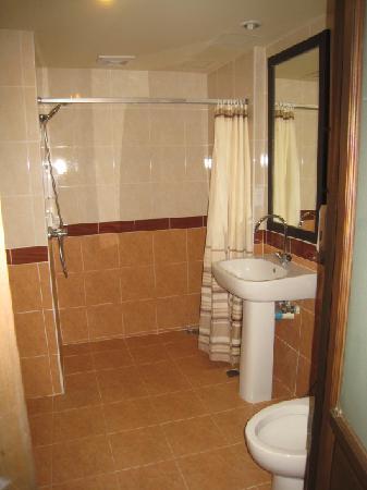 โรงแรมป๊อปปา พาเลซ: シャワー