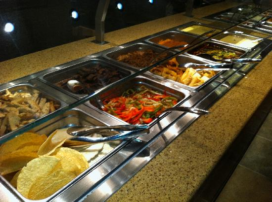 Chef's Stage Buffet: Mexican Fixins