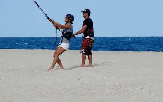 Kiteboarding Baja