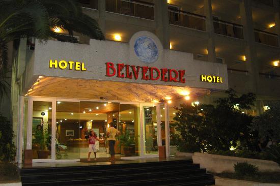 Ohtels Belvedere: Entrée hôtel