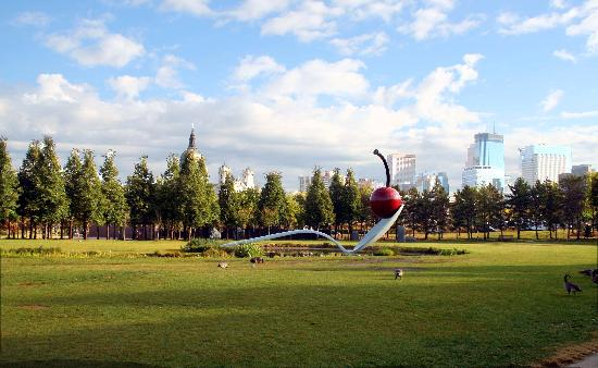 Residence Inn at The Depot: Spoonbridge & Cherry - Sculpture Garden