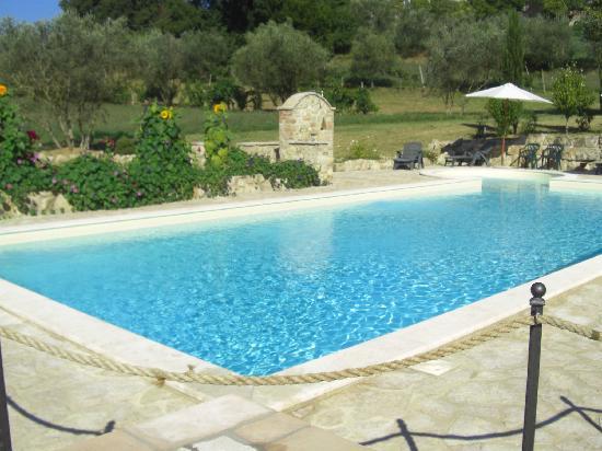 Agriturismo Poponi : la piscina