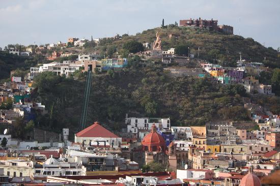 La Casa Azul: Rooftop View