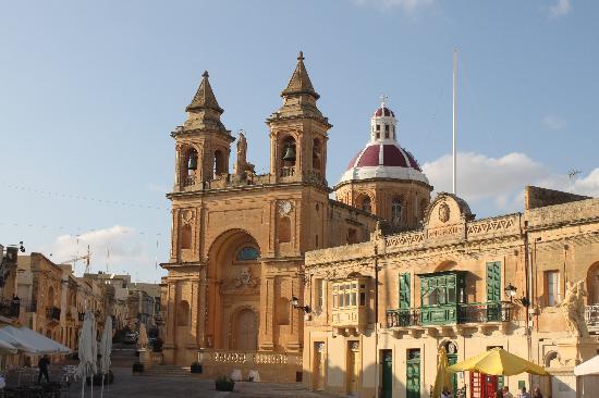 Marsaxlokk, Malta: Kirche