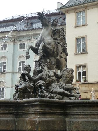 Hotel Alley Olomouc: Fountain