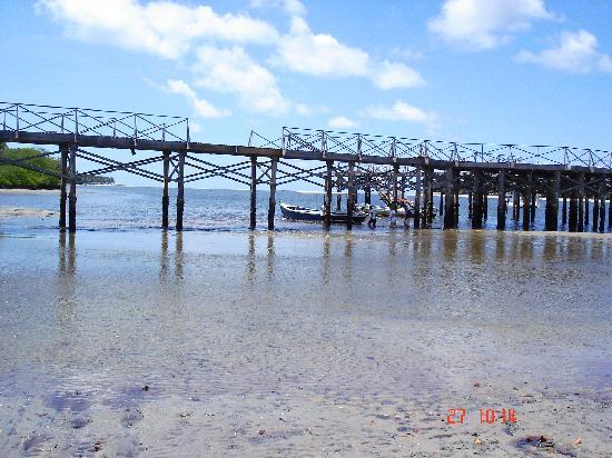 Carneiros Beach : Subiendo al catamaran