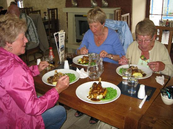 The Old Watch House Restaurant: Lamb shanks @ the Old Watch House