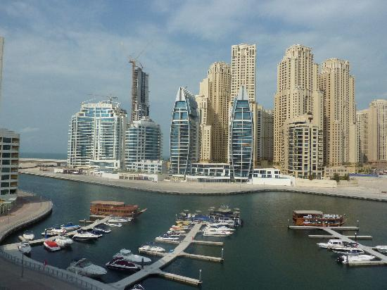 Lotus Hotel Apartments & Spa, Dubai Marina : View from room