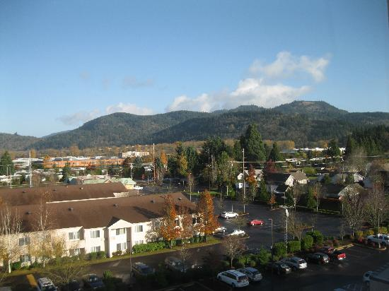 Holiday Inn Eugene - Springfield : View from 6th floor room