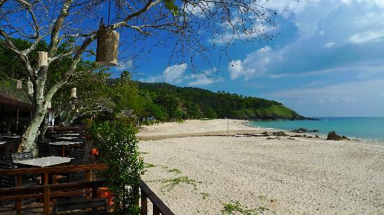 Anda Lanta Resort: the beach from restaurant