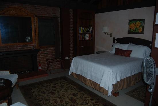 Rainforest Inn: The bed