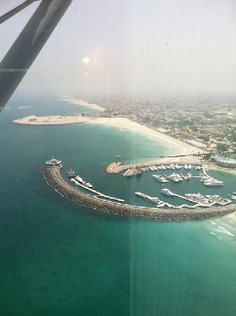 Burj Al Arab Jumeirah: panorama dalla camera