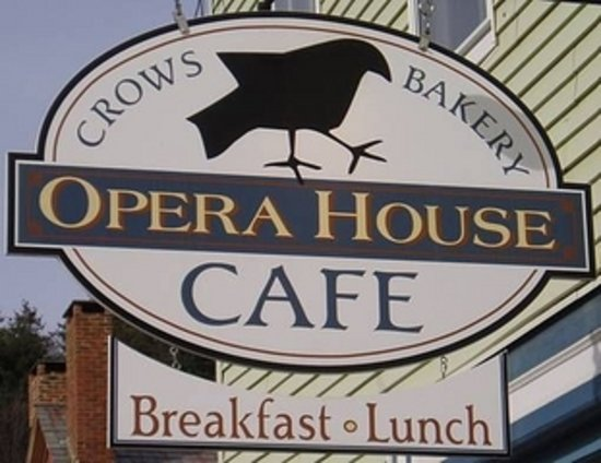 CROWS BAKERY & OPERA HOUSE CAFE: Our Logo Sign
