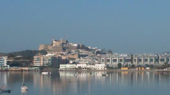 Talamanca, Spagna: Vista di Eivissa dall'hotel