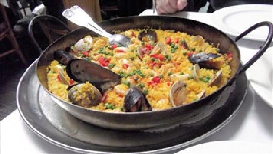 Spain Restaurant of Cranston: Paella Valenciana