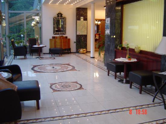 Hotel Seemowe: couloir