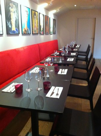 Restaurant Cafe Victor: Le restaurant mezzanine