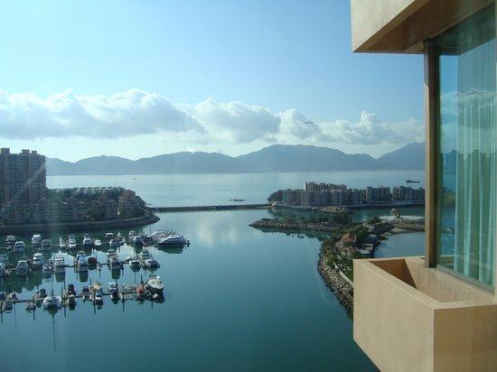 Hong Kong Gold Coast Hotel : View from my room