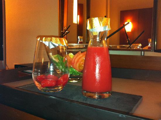 NH Malaga: La cena