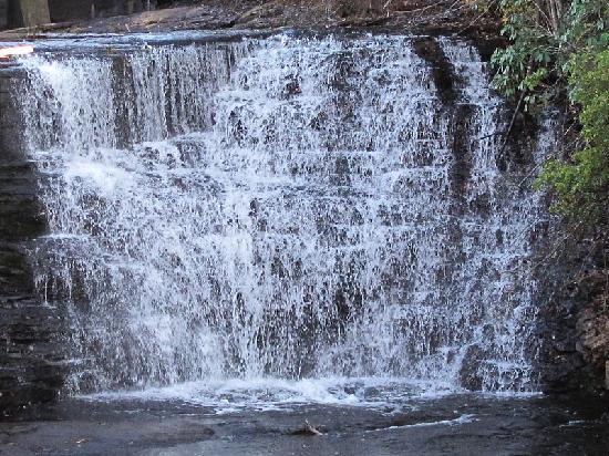 DeSoto State Park: Upper Falls 1