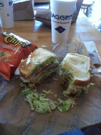 Baggin's Gourmet Sandwiches: club