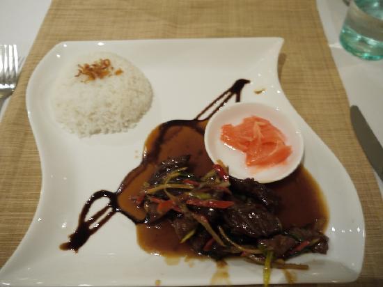 Carte Bali Benoa.An A La Carte Meal Picture Of Sol Beach House Bali Benoa