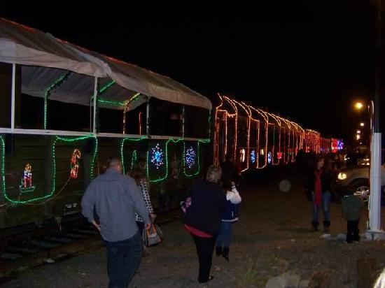 Niles Canyon Railway - Train of Lights