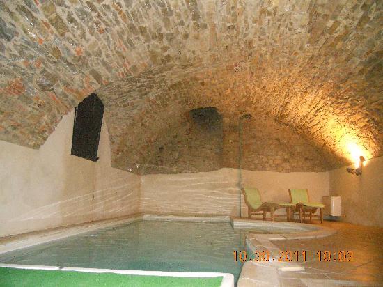 Palazzo Leopoldo Dimora Storica & Spa: Vaulted pool room