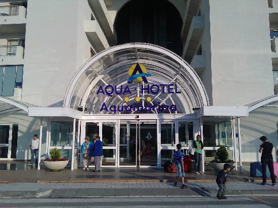 Aqua Hotel Aquamarina U0026 Spa: Entrée