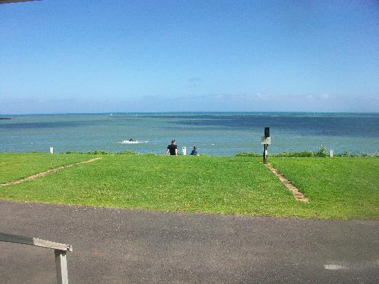 Belt Road Seaside Holiday Park: Taken from our cabin deck