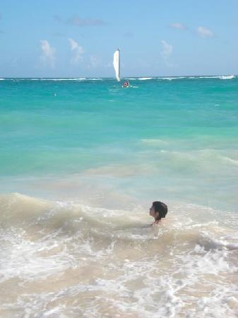 Hotel Riu Palace Punta Cana: la playa del hotel