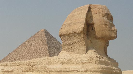 Sphinx : vista lateral